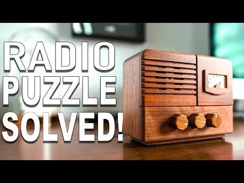 Solving the ANTIQUE RADIO Puzzle!!