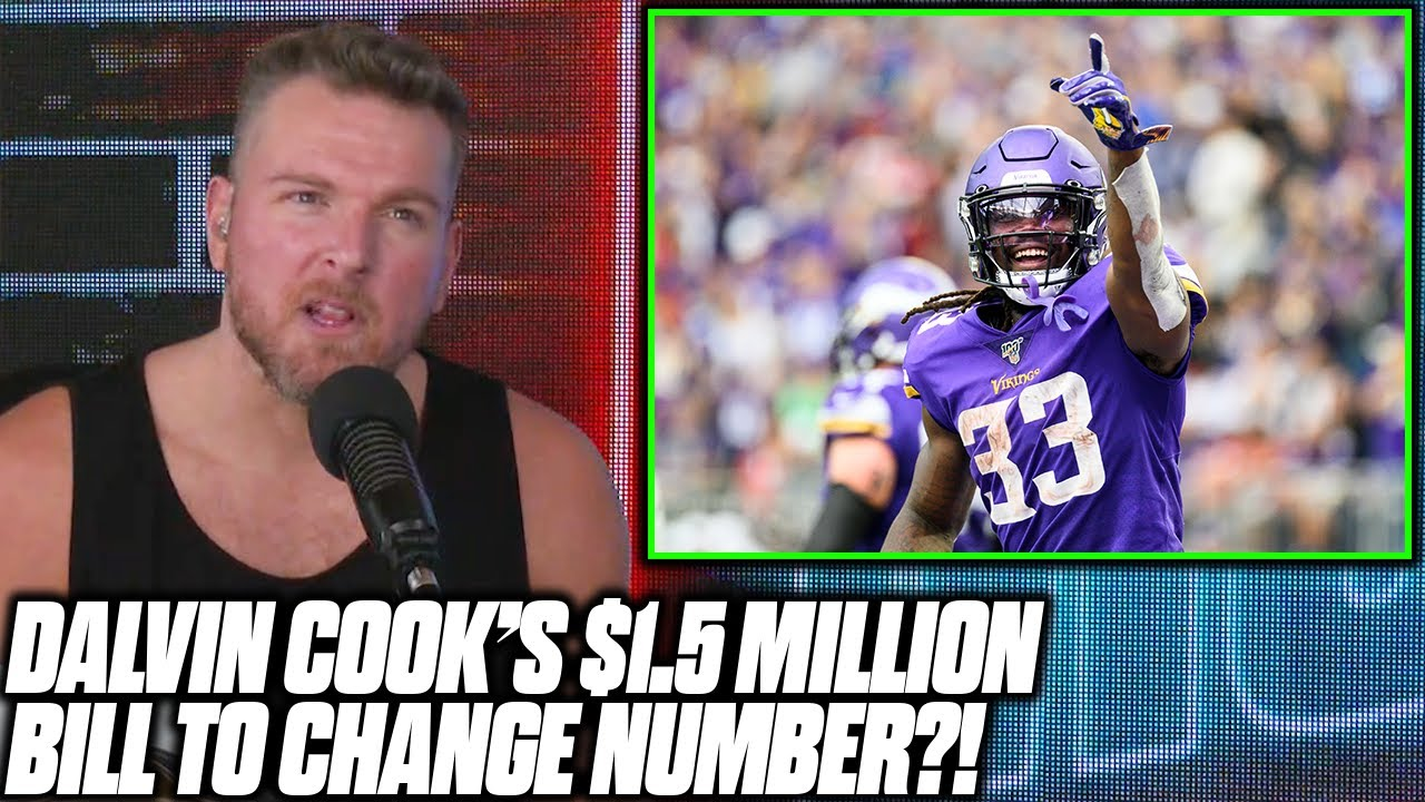 Pat McAfee Reacts To Dalvin Cook's $1.5 MILLION Bill To Change Jersey Number