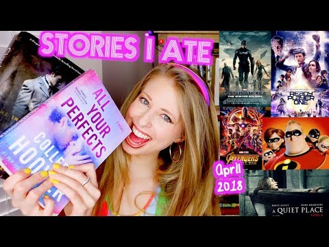STORIES I ATE THIS MONTH   APRIL 2018