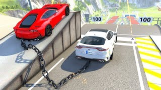 High Speed Jumps/Crashes Compilation #53 - BeamNG Drive Satisfying Car Crashes