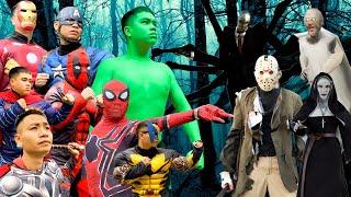 Superheroes In Horror Movies - Fun Hulk