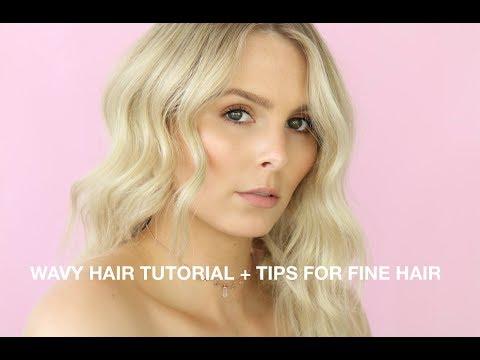 MY SIGNATURE WAVY HAIR TUTORIAL + BEST TIPS FOR THIN, FINE HAIR | RACHAEL BROOK