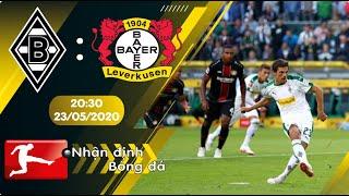 Nhận định, soi kèo Monchengladbach vs Bayer Leverkusen 20h30 ngày 23/05 - Bundesliga 2019/20