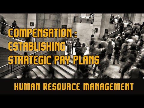 Compensation : Establishing Strategic Pay Plans l Human Resource Management