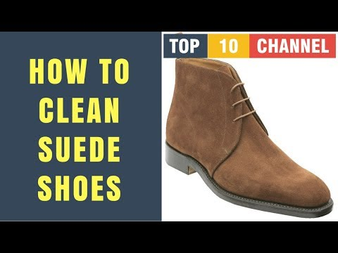 How to Clean Suede Shoes With Household Products | Scuffs & Marks | Water Stains | Oil Stains