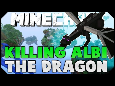 KILLING ALBI THE DRAGON IN SOLO MODE ( Hypixel Skywars )