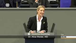 Bundestag: Generalaussprache zum Haushalt 2019