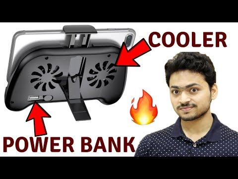 Cooling Pad for Smartphone plus Build in Power Bank | Unboxing Review | Tech Unboxing 🔥