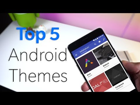 Top 5 Substratum Android Themes You Should Try! (2017)