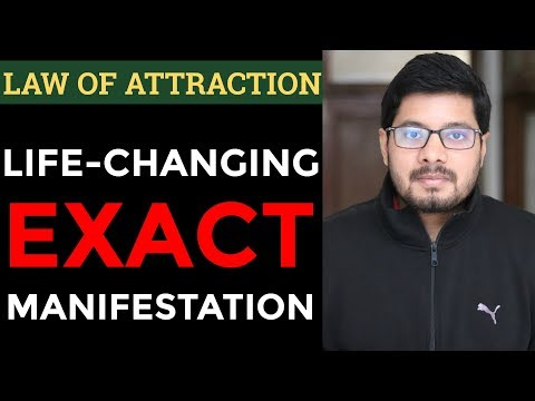 MANIFESTATION #89: LIFE-CHANGING Manifestation with Law of Attraction - How to Attract What You Want