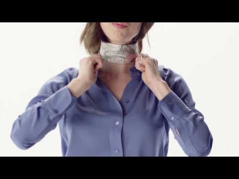 Making Sense of Style - How to Tie a Scarf