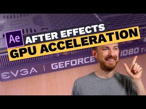 After Effects GPU Acceleration (w/ EVGA GeForce GTX 1080 Ti) - Ultimate Audio PC Build #013