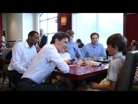 Prime Minister Trudeau announces new Canada Child Benefit
