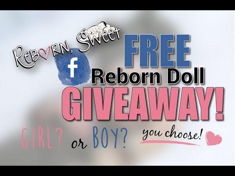 Free Reborn Doll Giveaway!