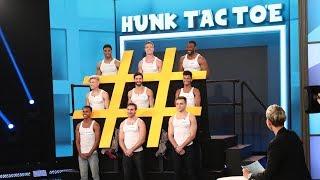 Ellen Introduces 'Hunk Tac Toe'