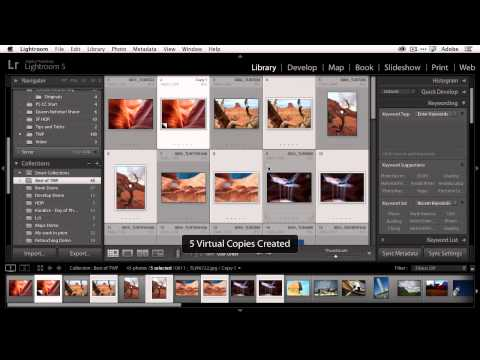 QuickTip: How To Adjust Multiple Photos At The Same Time In Lightroom 5