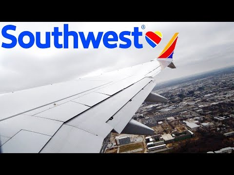 Southwest Airlines Boeing 737 MAX 8 (N8704Q) Takeoff from Dallas Love Field (DAL)