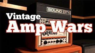 AMP WARS EP 1 ORANGE OVERDRIVE OR80 VS SOUND CITY 50