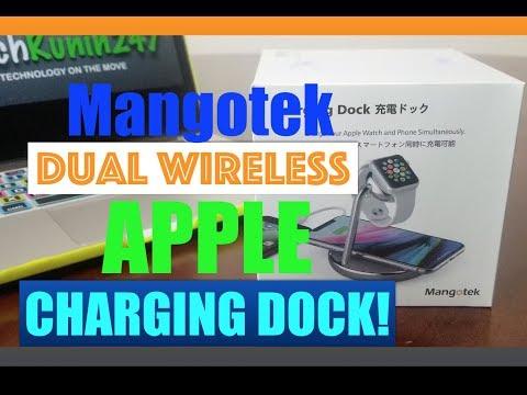 iPhone Xs: The Mangotek Dual Wireless Charging Dock!