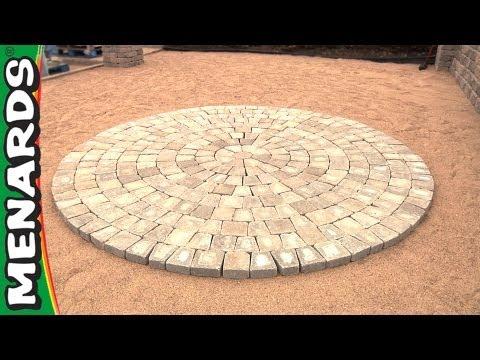 Circular Patio Kit - How To - Menards