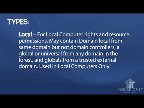 What is Computer Account and Groups with Active Directory on Windows Server 2012 R2
