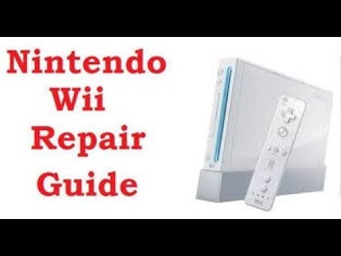 HOW TO FIX A WII WHEN IT WON'T READ DISCS (2017)