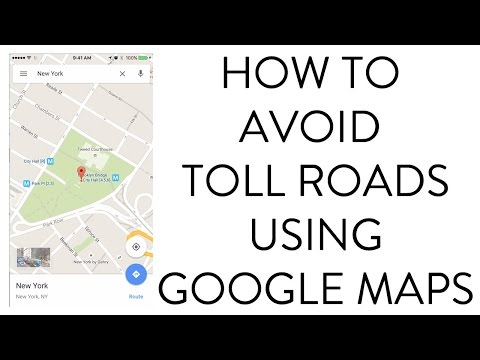 HOW TO AVOID TOLL ROADS USING GOOGLE MAPS