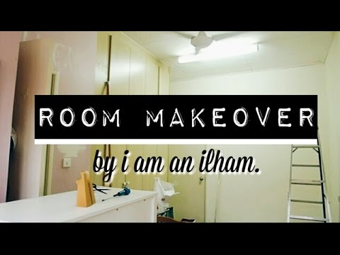 Room makeover, transformation ~i am an ilham