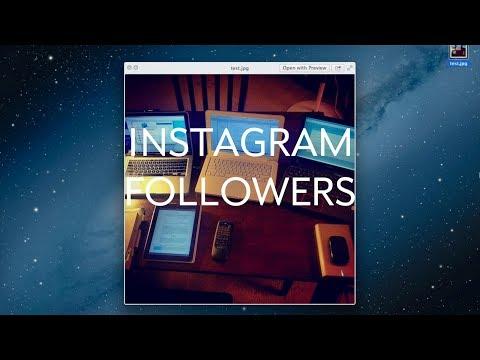 Instagram: Change Followers on Mac with Safari