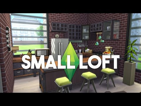 The Sims 4 House Building - Small Developer Loft - Speed Build