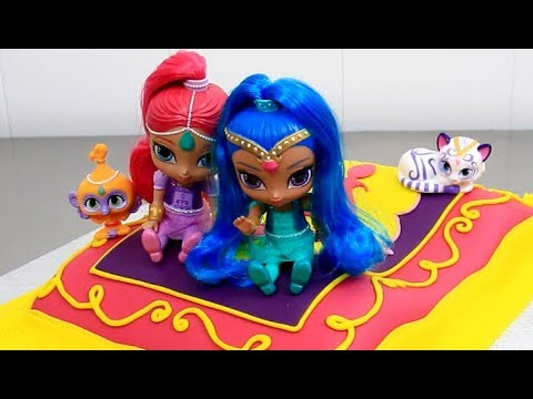 How to make a Shimmer and Shine Cake  by Cakes StepbyStep