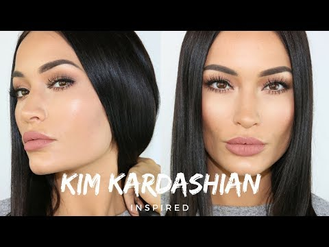 KIM KARDASHIAN WEST INSPIRED MAKEUP TUTORIAL