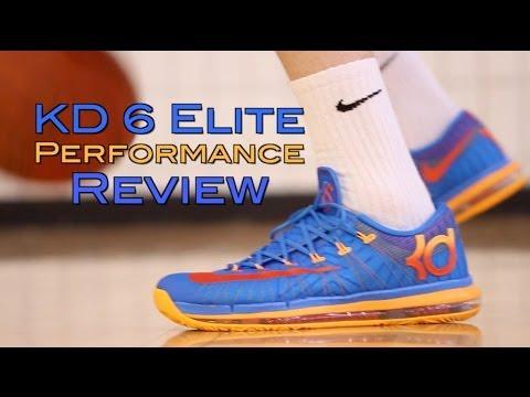 Nike KD 6 Elite Performance Review