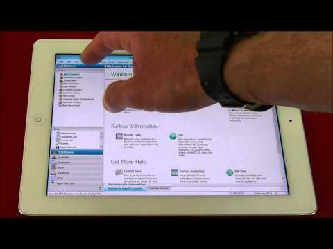 Sage Accounts for iPad IOS In The Cloud