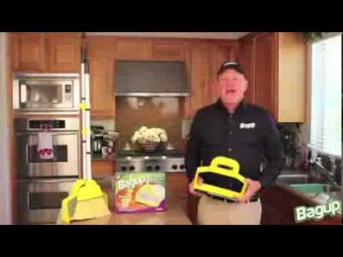 BagUp - The Ultimate Dust Pan Clean Up Toold