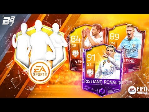 CLAIMING TOTW ST RONALDO! 5X TEAM OF THE WEEK BUNDLES! | FIFA MOBILE