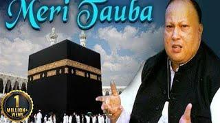 Meri Tauba Meri Tauba by Nusrat Fateh Ali Khan with Lyrics - Popular Qawwali - Musical Maestros