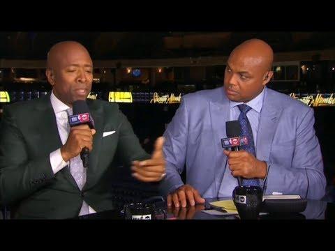 Inside the NBA-Chucks face when he saw Draymond Green