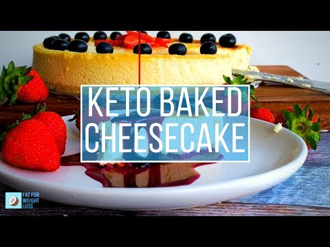 The Best New York Baked Cheesecake - Creamy and Keto Friendly