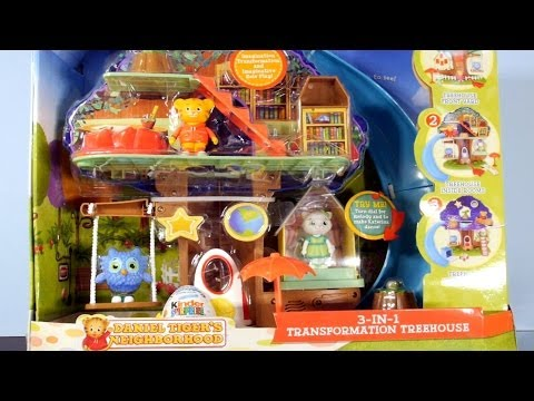 Daniel Tigers Neighborhood Full Playset With Kinder Surprise Egg By Disney Cars Toy Club