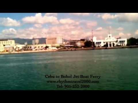 Cebu to Bohol Jet Boat Ferry by Rhythm Travel and Tours