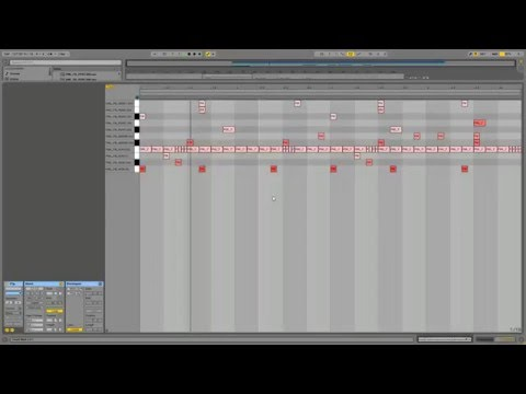 (Producing Session) Making Future RnB / Bass  Drum Beats in Ableton
