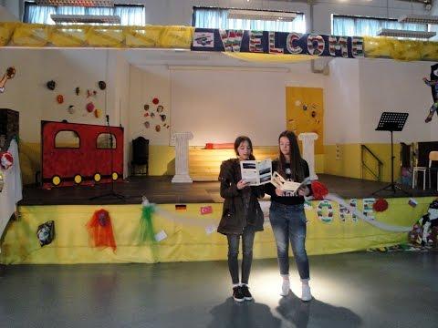 Presentation of tourist brochures
