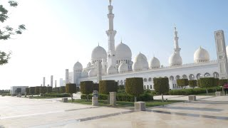 T20 World Cup Qualifier captains photoshoot at Grand Mosque, Abu Dhabi