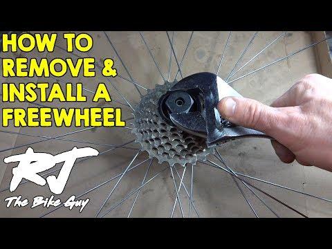 How To Change A Freewheel On A Bike