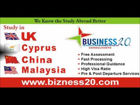 Business-20 Consultants Study in China Cyprus UK Malaysia