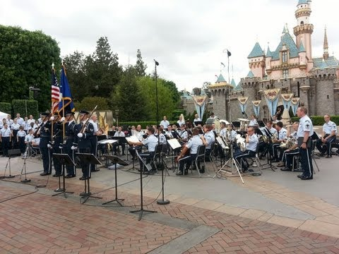 United States Air Force Band at Disneyland (Part 1 of 3)
