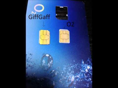 GiffGaff Micro Sim to Nano Sim Conversion