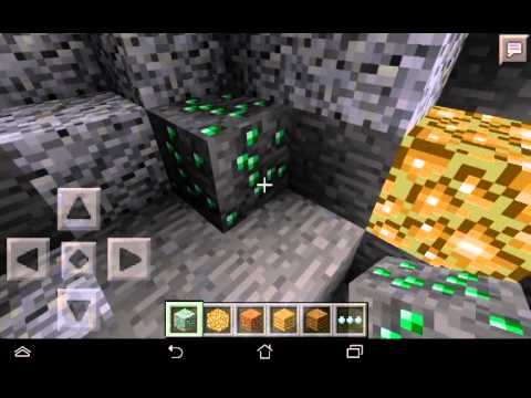 Minecraft pe 0.9.5 Emerald Seed