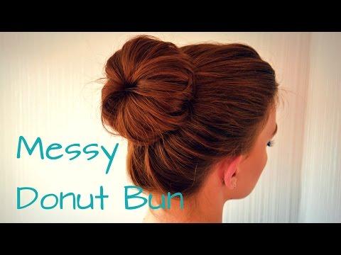 Messy Donut Bun | Hair Tutorial